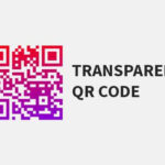 qr code transparent